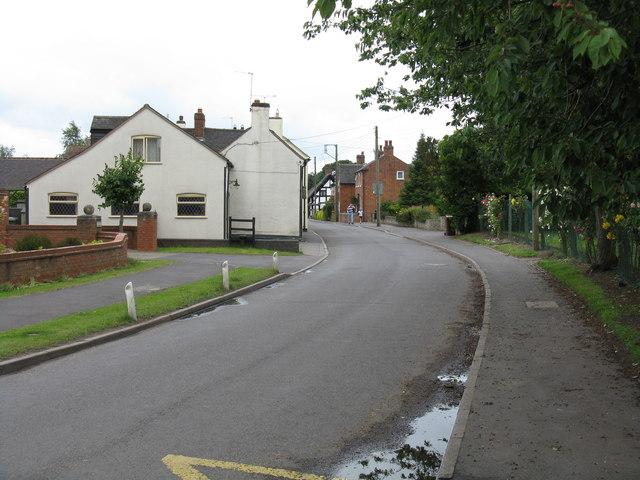 Church Eaton - High Street