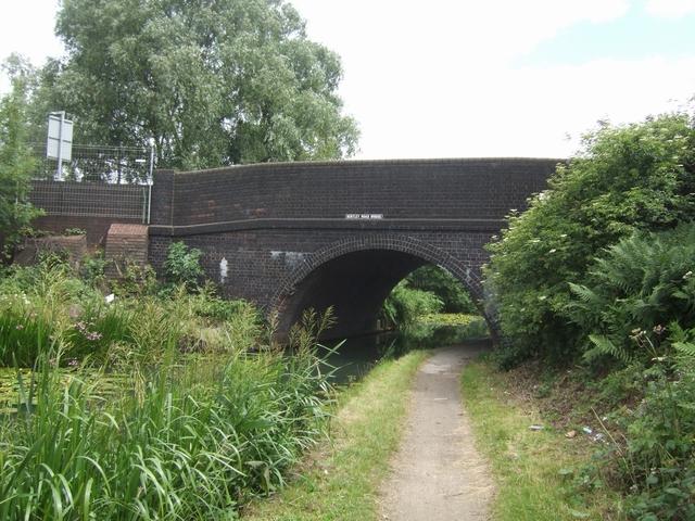 Walsall Canal - Bentley Road Bridge