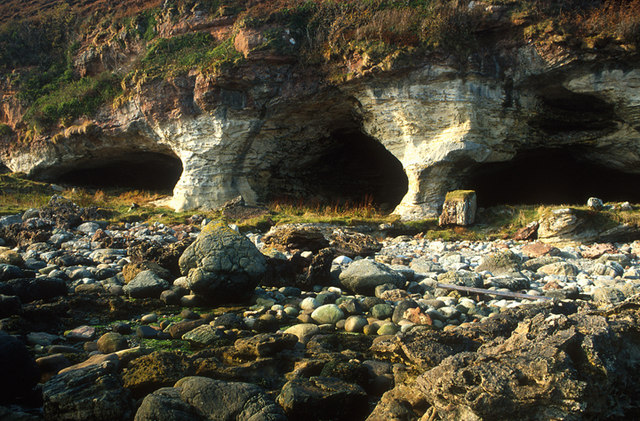 The Kings cave, Machrie, Arran