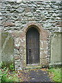 SD2674 : St Mary & St Michael Church, Great Urswick, Doorway by Alexander P Kapp