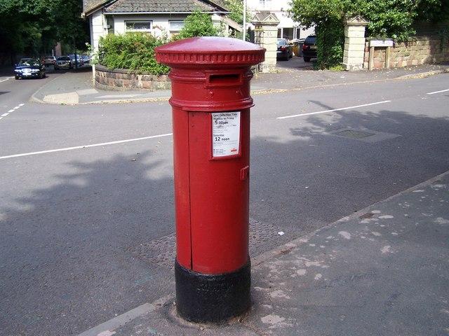 Pillar Box, Goldthorn Hill / Goldthorn road.