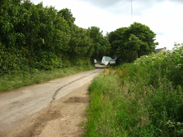 Entrance to Hook Farm