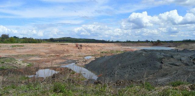 Gravel pit at Dunstall 1
