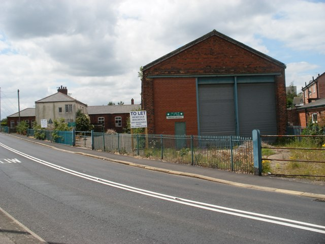 Old Tram Depot disused