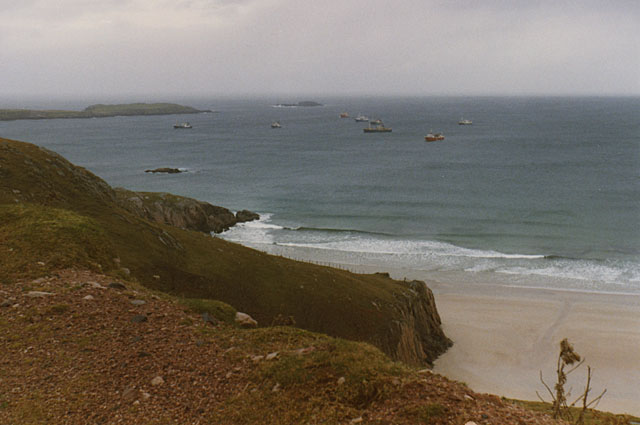 The west end of Traigh Allt Chailgeag by Nigel Brown