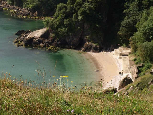 Redgate Beach from Walls Hill