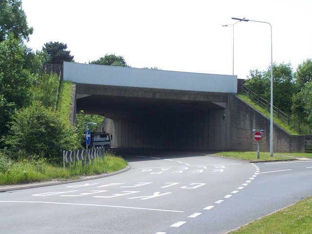 M54 Roundabout with A460, Featherstone
