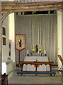 TF8115 : St James' church - north aisle chapel by Evelyn Simak