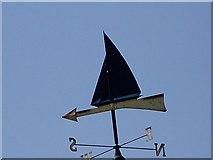 SU4208 : Weather vane, Hythe Marina by Maigheach-gheal