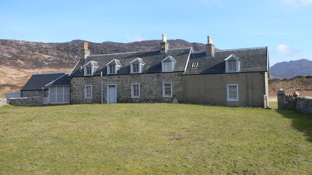 The Astor family's Summer House at Glenbatrick bay
