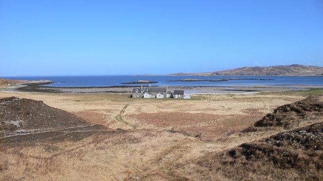 House at Glenbatrick Bay from Glenbatrick