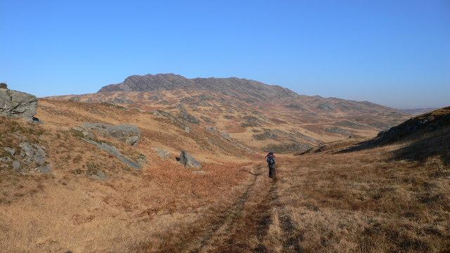 Heading East Above Loch Tarbert