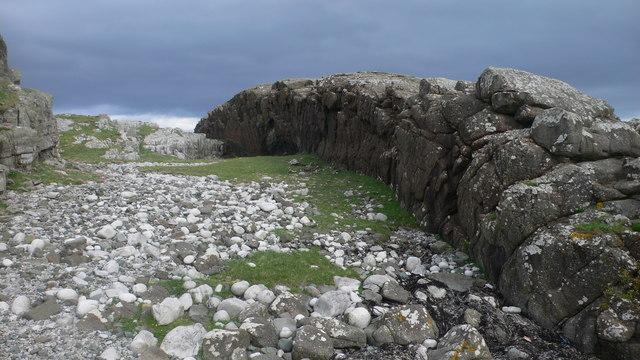 Basalt Dyke