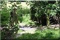TQ2050 : Field water trough by Hugh Craddock