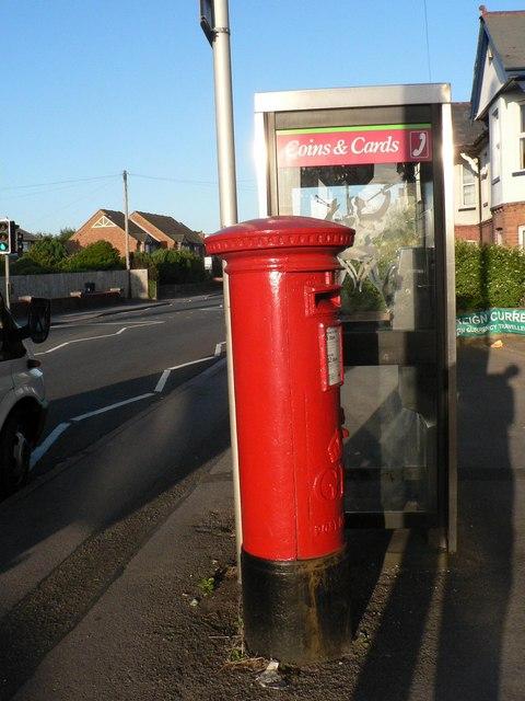 Wallisdown: postbox № BH12 168, Wallisdown Road