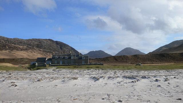 Beach at Glenbatrick Bay