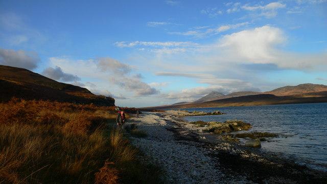 Shoreline on the Sound of Islay