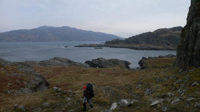 Shoreline Beneath Beinn nan Capull