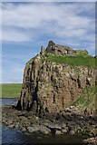 NG4074 : Duntulm Castle by Leslie Barrie