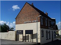 SK2803 : The Hatters Arms, Warton by Geoff Pick