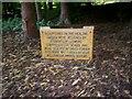 J0458 : Plaque, Healing Garden, Tannaghmore Gardens by P Flannagan