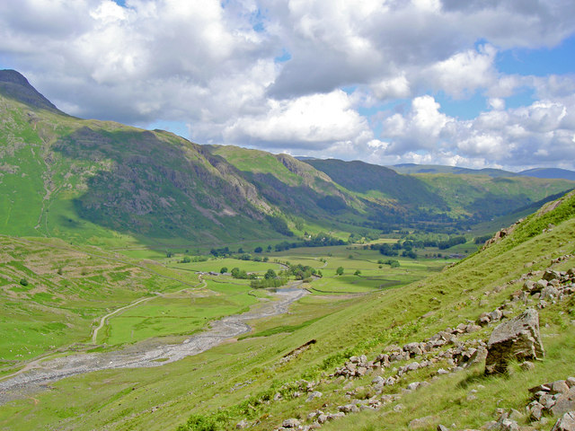 The Western end of Great Langdale
