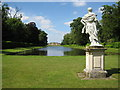 TL0934 : Wrest Park: The Long Canal by Nigel Cox