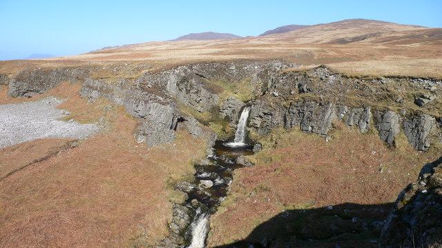 Waterfall at Sliabh Allt an Tairbh