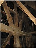 SO3958 : Interior of the Bell Tower of St Mary's Church by David M Jones