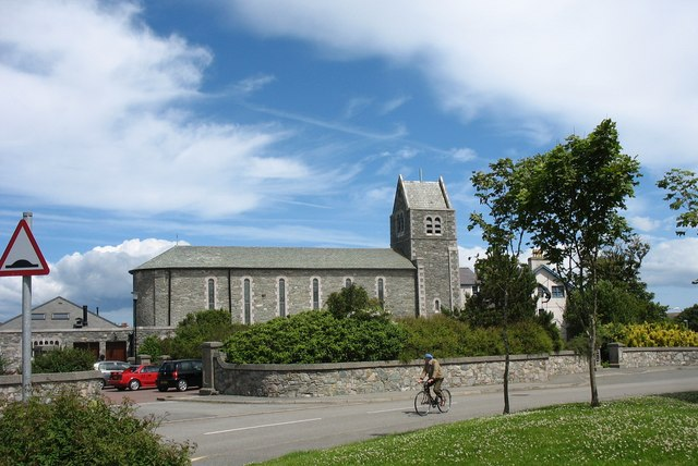 The Ucheldre Arts Centre at the former Good Saviour Convent chapel
