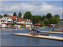 SU7682 : The River, Thames, Henley by Andrew Smith