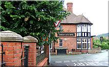 SO4382 : Stokesay Castle Hotel, School Road by P L Chadwick