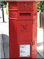 TQ3573 : (Another) Penfold postbox, Devonshire Road, SE23 - royal cipher and crest by Mike Quinn