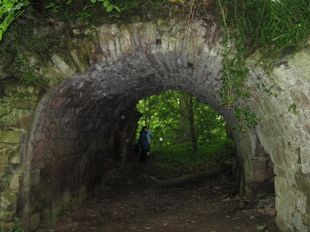 Vaulted Entrance To Yester Castle C M J Richardson Geograph