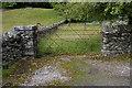 SD3687 : St Peter's Church, Finsthwaite, Gate by Alexander P Kapp