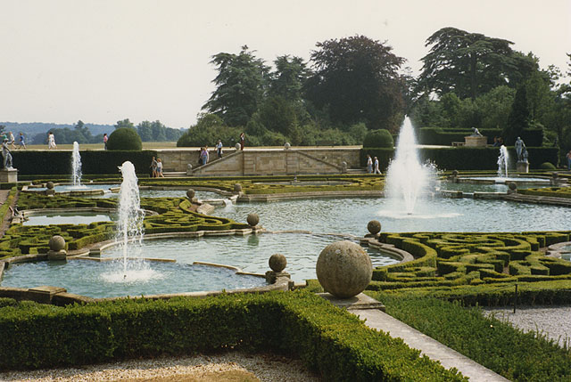 Formal garden, Blenheim Palace