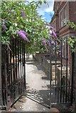 SK5639 : Entrance to The Park by Mick Garratt