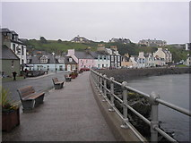 NW9954 : The waterfront at Portpatrick by Sandy Gemmill