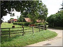 TG0934 : Church Farm by Evelyn Simak