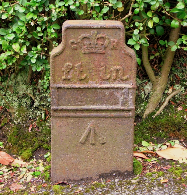 GPO cable marker, Downshire Road, Bangor