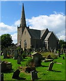 J5081 : Bangor Abbey and graveyard by Rossographer