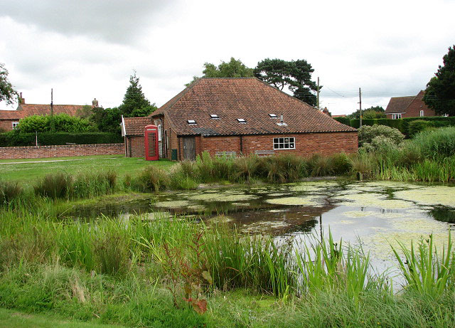 View across duck pond