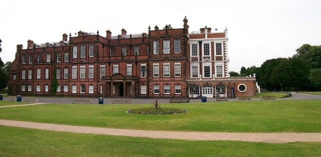 Main entrance Croxteth Hall