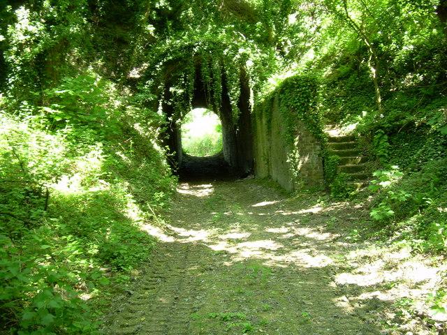 Quarry tunnel, Burham