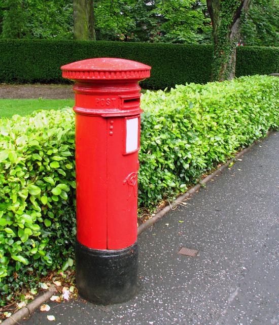 Victorian Postbox, North Road, Belfast