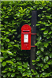 TQ2352 : Victorian postbox, Mogador by Ian Capper