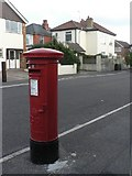 SZ0894 : Moordown: postbox № BH9 247, Comley Road by Chris Downer