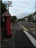 SZ0893 : Winton: postbox № BH9 77, Talbot Road by Chris Downer