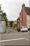 SU4828 : Top of Wharf Hill, Winchester by Peter Facey