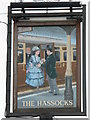 TQ3015 : Sign for The Hassocks Hotel by Mike Quinn